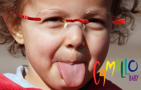 Scopri gli occhiali per bambini da 0 a 8 anni Camillo Baby, solo da Ottica Freddio