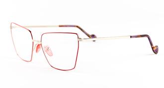 Dad� occhiali da vista modello aventure montatura rossa