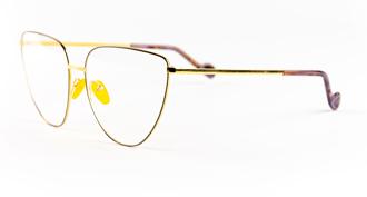 Dad� occhiali da vista modello litterature montatura gialla