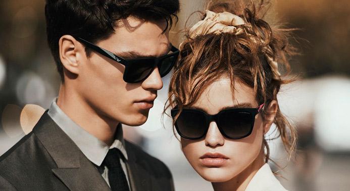 Gli inimitabili occhiali da sole Emporio Armani, lo chic senza tempo