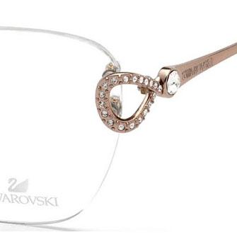 Vista occhiali originali Swarovski cristalli Ottica Freddio
