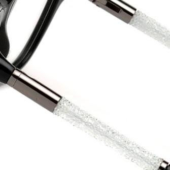 Occhiali Swarovski con montatura con dettagli luminosi Ottica Freddio
